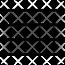 Text Align Center Align Centre Align Icon
