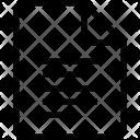 Align file Icon