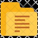 Align folder Icon