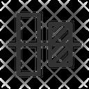 Align Horizontal Align Objects Icon