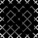 Align Horizontal Top Tool Icon