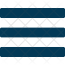 Align Justify Text Icon
