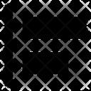 Align layer to left Icon