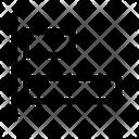 Align Left Arrange Align Icon