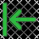 Align Left Arrow Arrows Icon