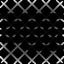 Align Justify Left Align Icon
