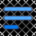 Align Left Menu Paragraph Icon