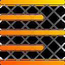 Align Left Button Icon