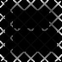Align Left Align Center Horizontal Alignment Icon