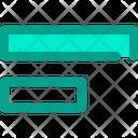 Align Left Horizontal Icon