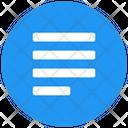 Align Left Justify Icon