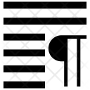 Align paragraph Icon