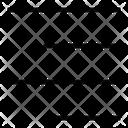 Align Right Alignment Format Icon