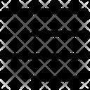 Align Right Alignment Text Icon