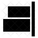 Align Right Horizontal Alignment Object Alignment Icon