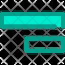 Align Right Horizontal Icon