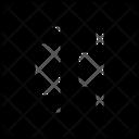 Align Right Edges Icon