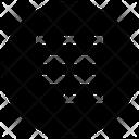 Align Right Justify Icon