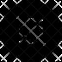 Align Slash Icon