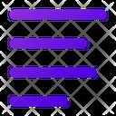 Align Text Left Icon