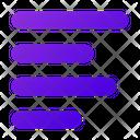 Align Text Left Align Left Align Icon