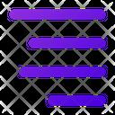 Align Text Right Icon