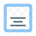 Align Text Bottom Icon