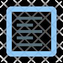 Align  text to left Icon