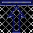 Align Top Align Arrow Icon