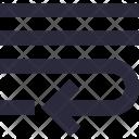 Alignment Indent Insert Icon
