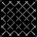 Alignment Align Down Icon