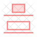 Upper Alignment Text Icon