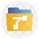 Alignment Folder File And Folder Document Icon
