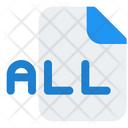 All File Icon