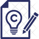 All Right Reserved Copyright Act Copyright Ordinance Icon