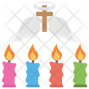 Saints Day Cross Icon