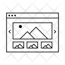 All Wireframe Site Icon