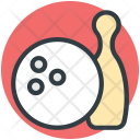 Alley Pins Bowling Icon