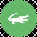 Alligator Animal Wildlife Icon
