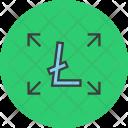 Allocate Cash Flow Icon