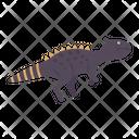 Allosaurus Dinosaur Icon
