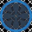 Alloy Wheel Car Alloy Icon