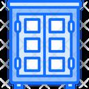 Almirah Cupboard Wardrobe Icon