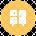 Almirah Cupboard Safe Icon