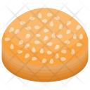 Almond Cake Pancake Icon
