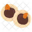 Chocolate Creamy Dark Icon