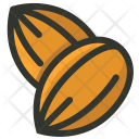 Almonds Nut Seeds Icon