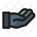 Alms Hand Share Icon