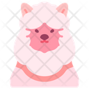 Alpaca Sheep Fluffy Icon