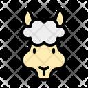 Alpaca Animal Mammals Icon